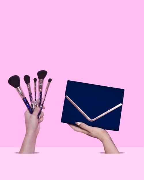 Blue Brush Set
