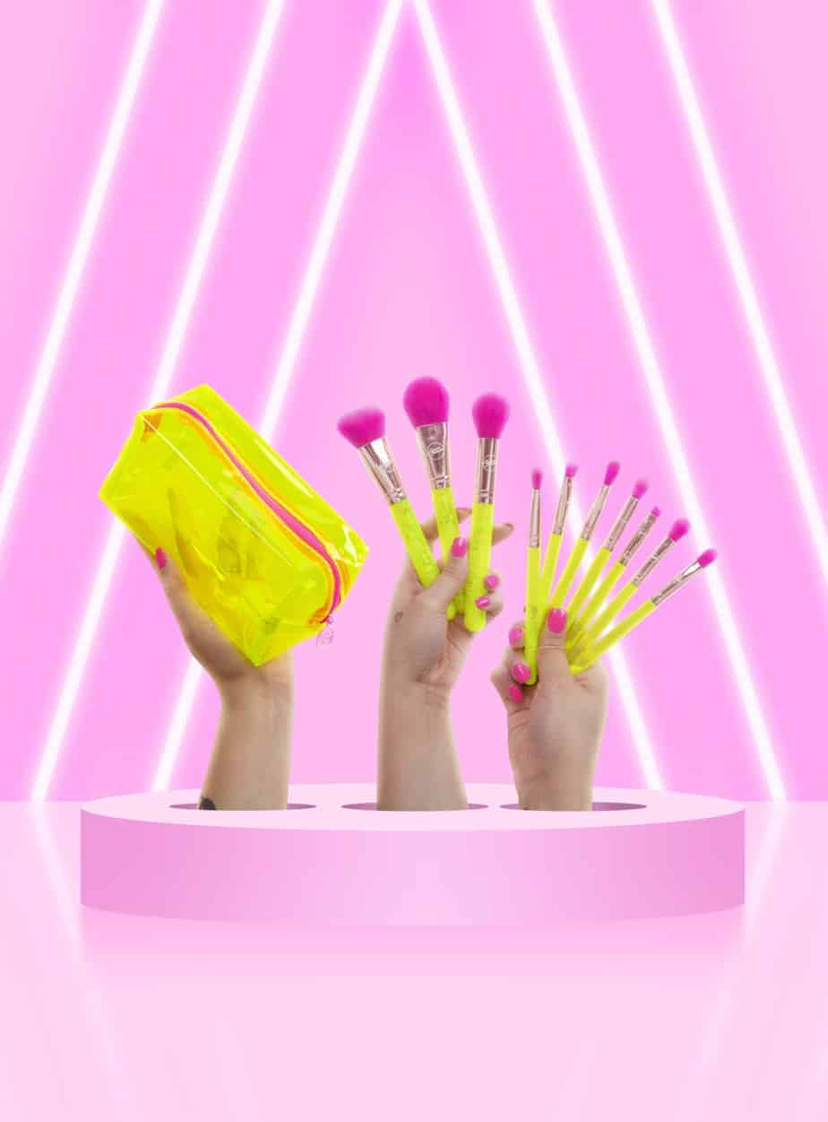 Neon Brush Set